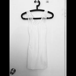 Guess White Bodycon Dress